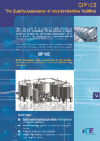 CIP'ICE, the quality assurance of your production facilities