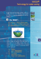 WASA, technology for water saving