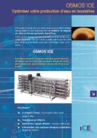 OSMOS'ICE, optimiser votre production d'eau en bouteilles