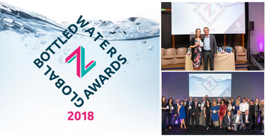 Global Bottled Water Awards 2018 - céremonie des awards