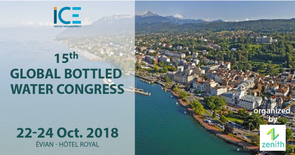 ice at Global bottled water congress