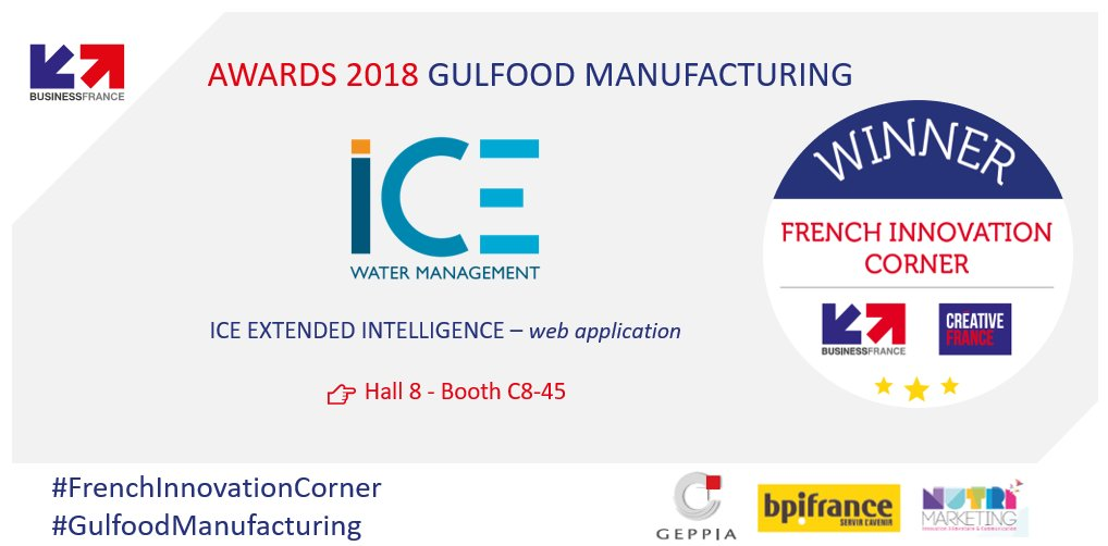 ICE winner of the French Innovation Corner