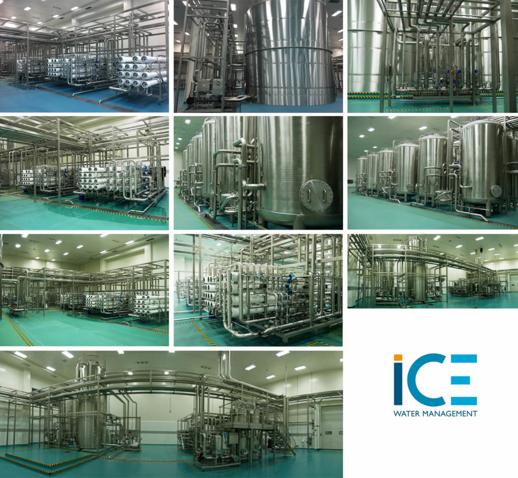 mega plant, the largest water and CSD plants in the world-planche ICE dans une des plus grandes usines d'embouteillage