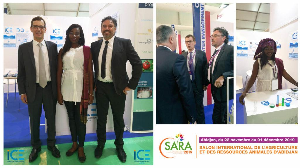 ice water management au salon Sara 2019 - Sara exhibition