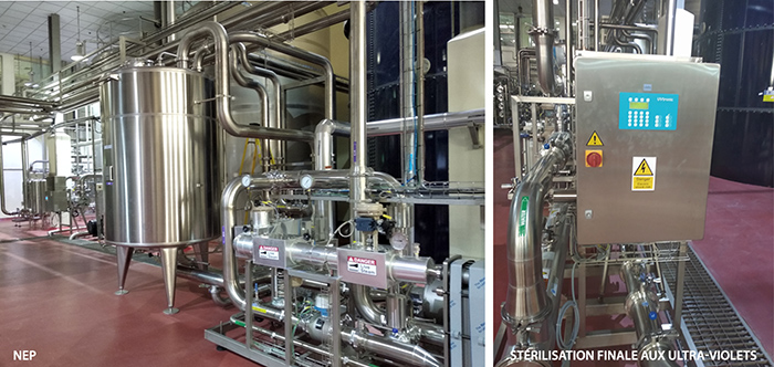 extension de traitements d'eau - nep