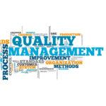 QUALITY AND CONTROL MANAGEMENT - GESTION DE LA QUALITE ET DU CONTROLE