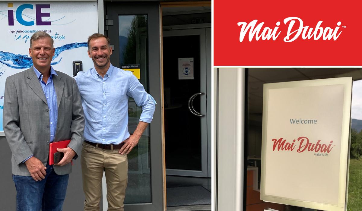 Alexander Van 't Riet CEO of Mai Dubai at ICE premises